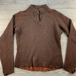 MOUNTAIN HARD WEAR WOOL BLEND SWEATER SMALL